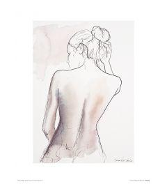 Ballet Vrijdag Art Print Aimee Del Valle 30x40cm