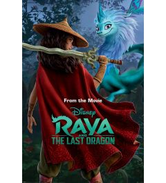 Raya and the Last Dragon Warrior in the Wild Poster 61x91.5cm