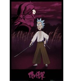Rick and Morty Samurai Rick Poster 61x91.5cm