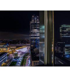 Rotterdam By Night Kunstdruk