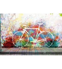 Fiets Graffiti Poster 61x91.5cm