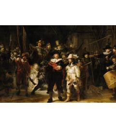 De Nachtwacht van Rembrandt van Rijn Poster 61x91.5cm