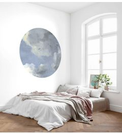 Simply Sky Zelfklevende Behangcirkel ⌀125