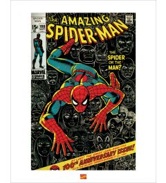 Spider-Man Art Print 40x50cm