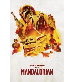 Star Wars The Mandalorian Adventure Poster 61x91.5cm