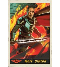 Star Wars The Mandalorian Moff Gideon Card Poster 61x91.5cm