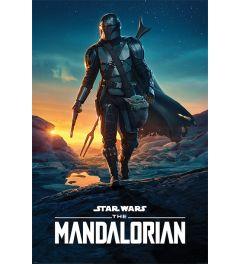 Star Wars The Mandalorian Nightfall Poster 61x91.5cm