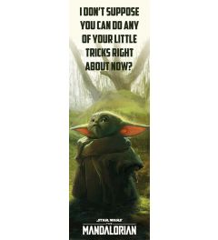 Star Wars The Mandalorian Special Tricks Poster 53x158cm