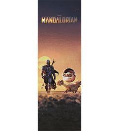 Star Wars The Mandalorian The Child Dusk Poster 30.5x91.5cm