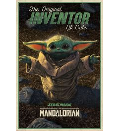 Star Wars The Mandalorian The Original Inventor of Cute Poster 61x91.5cm