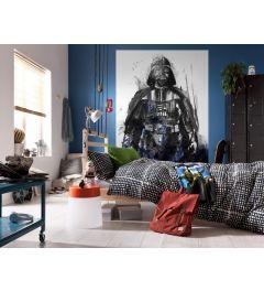 Star Wars Watercolor Vader 4-delig Fotobehang 200x280cm