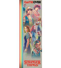 Stranger Things Game Over Poster 53x158cm
