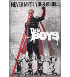 The Boys Homelander Stencil Poster 61x91.5cm