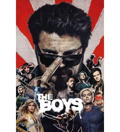 The Boys Sunburst Poster 61x91.5cm