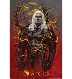 The Witcher Geralt the Wolf Poster 61x91.5cm