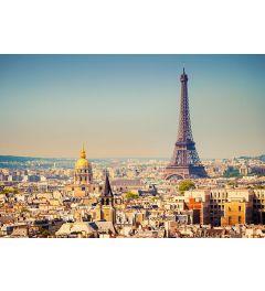 Parijs Eiffeltoren 8-delig Vlies Fotobehang 366x254cm
