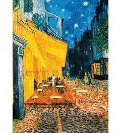 Terrasse De Café La Nuit van Gogh 4-delig Fotobehang 183x254cm