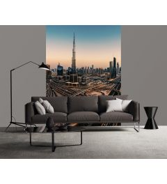 Dubai Verenigde Arabische Emiraten Fotobehang 2-delig 184x254cm