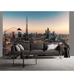 Dubai Verenigde Arabische Emiraten Fotobehang 4-delig 368x254cm