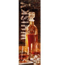 Fles Whisky Poster 53x158cm